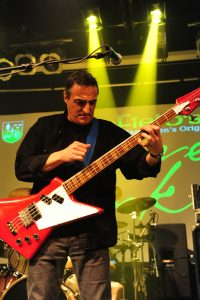 Peter Fredette of Kim Mitchell plays with The Groove Junkies