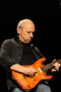 Mark Knopfler with his Pensa Guitar