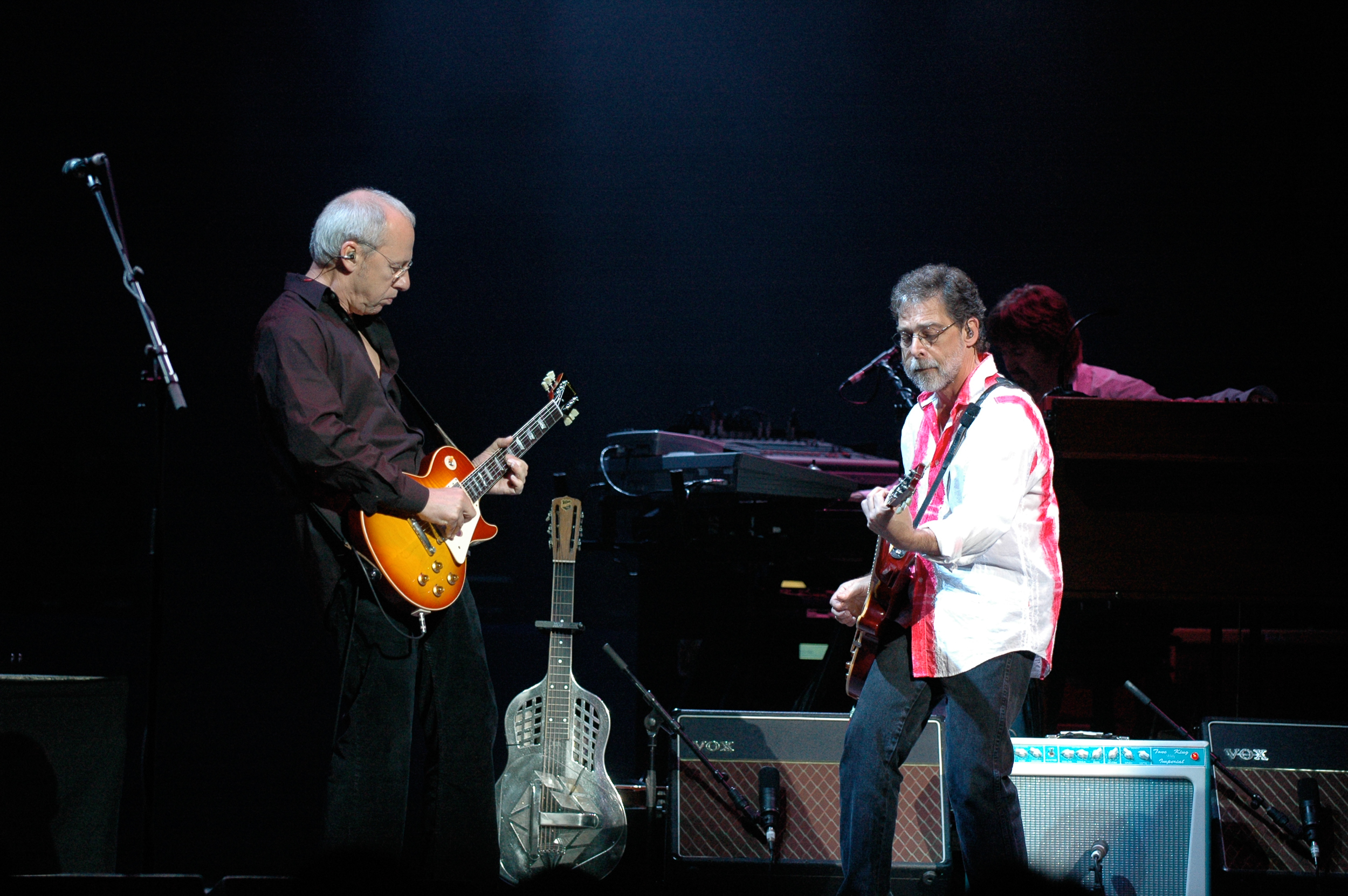 Mark Knopfler and Richard Bennett