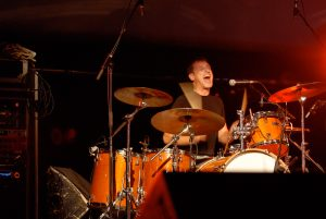 David Wilcox Drummer at the Spencerville Fair 2006