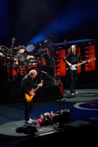 Alex Lifeson, Geddy Lee and Neil Peart of Rush