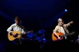 Greg Keelor and Jim Cuddy of Blue Rodeo